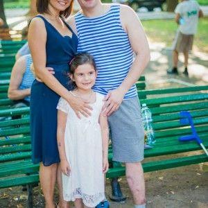 Марічка Падалко з донькою відвідала героїв у шпиталі (ФОТО)