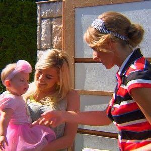 Іриша Блохіна познайомила Осадчу з 10-місячною донечкою Жаклін