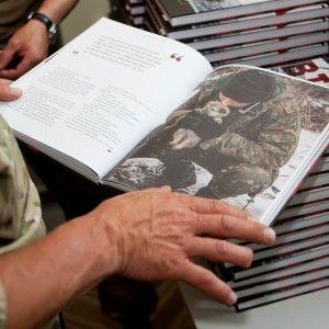 """Книга """"Війна очима ТСН"""" була представлена в Нью-Йорку"""
