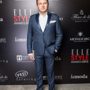 Юрій Горбунов отримав престижну нагороду ELLE STYLE AWARDS