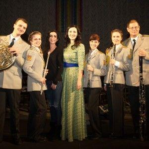 Соломія Вітвіцька провела концерт до ювілею оркестру Збройних Сил України