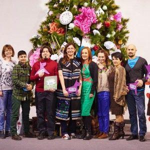 """На """"Різдвянному Арсеналі"""" Юлія Бориско представила найкращі сімейні видання року"""