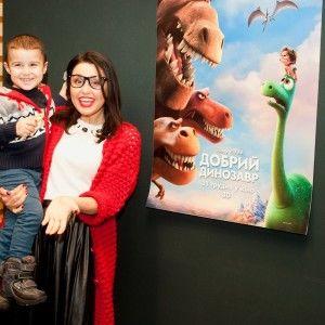 Людмила Барбір озвучила веселого тиранозавра у новому мультфільмі