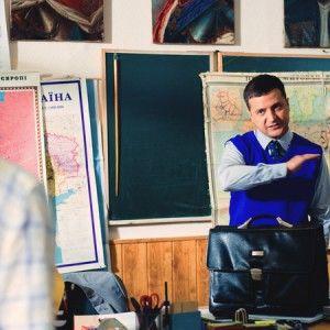 """У """"Кварталі-95"""" Порошенко використав монолог Голобородька зі """"Слуги народу"""""""