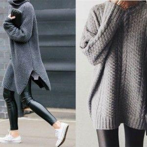 Модні тенденції 2016: З чим носити об'ємні светри (ВІДЕО)