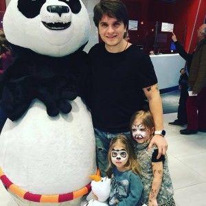 Кунг-фу Панда 3: Анатолій Анатоліч сходив з доньками на мультфільм
