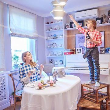 Вагітна Ольга Фреймут показала свою квартиру у новій фотосесії (фото)