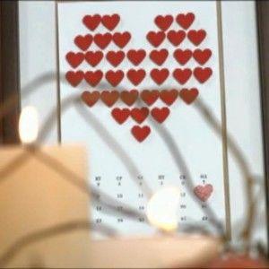 Оригінальний подарунок на День закоханих: Як зробити любовний календар