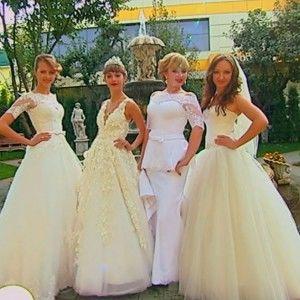 Наречена у проекті 4 весілля здивувала гостей довжелезною фатою (ВІДЕО)