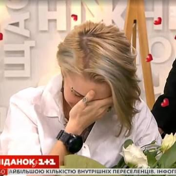 Коханий Яни Зінкевич освідчився їй у прямому ефірі Сніданку