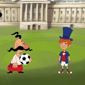 Козаки. Футбол: з'явилися перші кадри нового мультсеріалу про легендарних персонажів (ВІДЕО)