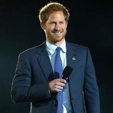 Принц Гаррі здивував публіку своїм взуттям