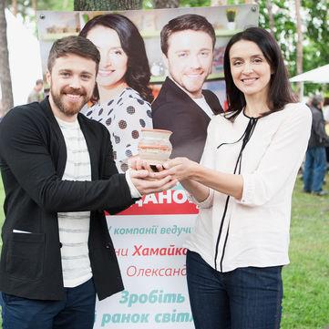 Валентина Хамайко та Олександр Попов презентували «Сніданок. Вихідний» на фестивалі Family Day