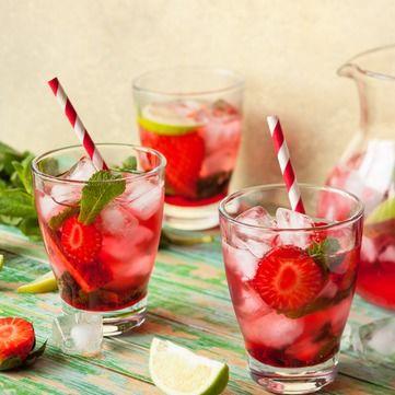Лимонад із полуниці: простий і корисний рецепт