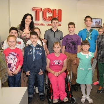 Соломія Вітвіцька провела на каналі 1+1 екскурсію для дітей з інвалідністю