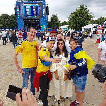 Євро 2016: Як відомі українці вболівали за Збірну України з футболу