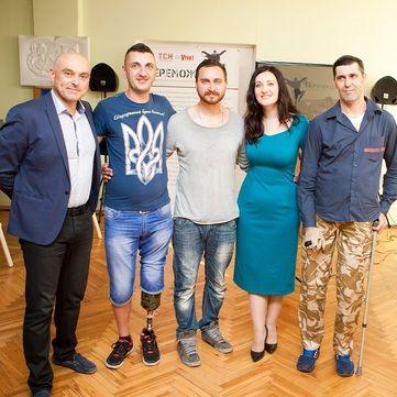 Соломія Вітвіцька та герої АТО запрошують на виставку Переможці в Запоріжжі