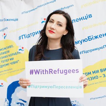 Соломія Вітвіцька стала ведучою фестивалю, присвяченого Міжнародному дню біженця