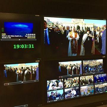 1+1 медіа забезпечила трансляцію приїзду Папи Римського до Вірменії