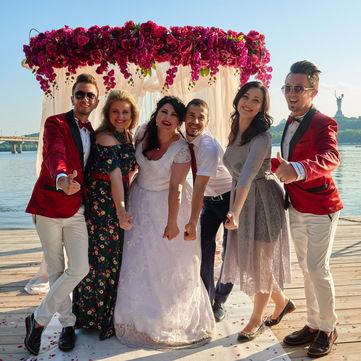 У Києві одружився учасник соціального проекту Переможці