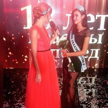 Красуня та розумниця: Міс Україна розповіла, як поєднає конкурс краси та навчання