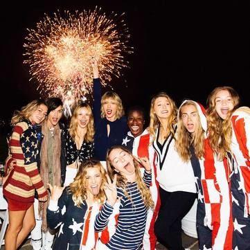 Як голлівудські зірки відсвяткували День Незалежності США (фото)