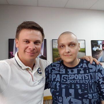 Дмитро Комаров збирає $12 500 на лікування онкохворого юнака