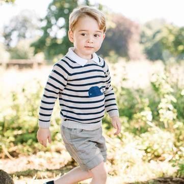 Трьохрічний принц Джордж став обличчям американського журналу про знаменитостей