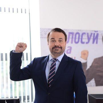 Кандидат в мери Антон Лірник представив свій передвиборчий штаб