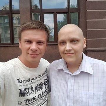 Дмитро Комаров зібрав $14 400 на порятунок хлопця