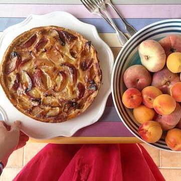 Рецепт від Руслана Сенічкіна: Персиковий пиріг