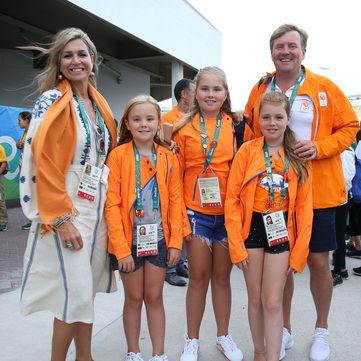 Королева Нідерландів вболівала на Олімпійських іграх 2016 в українській вишиванці
