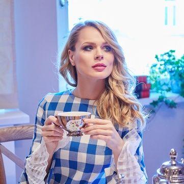 Як Ольга Фреймут вбрала доньку в школу (фото)
