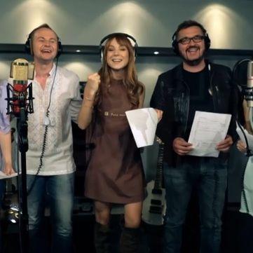 В програмі Сніданок з 1+1 відбулася прем'єра кліпу «Оберіг»
