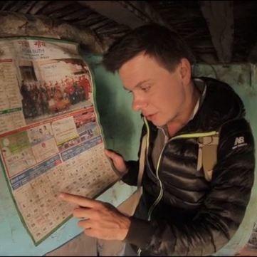 Комаров та Дмитрієв покажуть унікальний репортаж землетрусу в Непалі