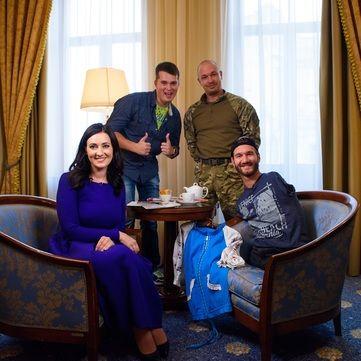 Соломія Вітвіцька записала ексклюзивне інтерв'ю з Ніком Вуйчичем