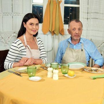 Рецепт камбали «ан папійот» з овочевим жульєном від Савви Лібкіна та Людмили Барбір