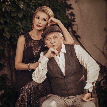 Ольга Сумська та Володимир Горянський «зіграли» італійське весілля (фото)