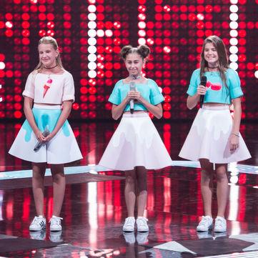 Вперше в історії «Голос.Діти» на сцені заспівало тріо