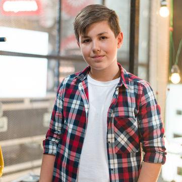 Хлопчик прийшов на «Голос. Діти 3», щоб стати героєм для батька-воїна АТО