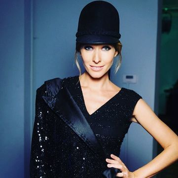 Катя Осадча показала фото зі свого модельного минулого