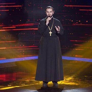 На «Голос країни-7» прийшов священик