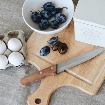 Здоба із пряними сливами: Рецепти Валентини Хамайко