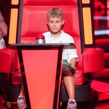 Син Тіни Кароль презентував свій трек на сцені «Голос. Діти 3» (відео)