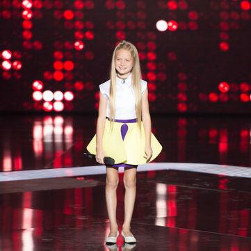 Учасниця «Голос. Діти» з Ізраїлю розповіла про сукню від стиліста і  конкуренцію із сестрою