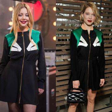 Кому більше пасує сукня від Louis Vuitton: Тіна Кароль VS «дівчина Бонда»