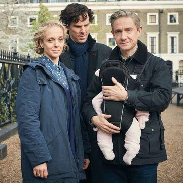 Доктор Ватсон із «Шерлока» став батьком