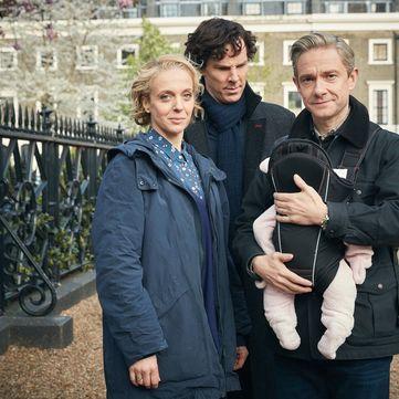 Мартін Фрімен розлучився з колегою по «Шерлоку» Амандою Еббінгтон
