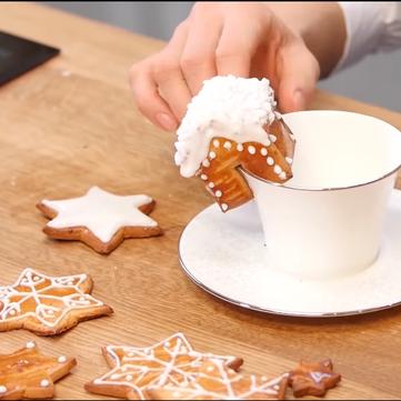 Новорічне імбирне печиво: Рецепт Валентини Хамайко
