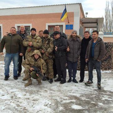Актори студії «Квартал 95» відвідали військові частини